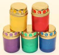 Лампадка пластмасова на 12 годин кольорова (12П - 01)