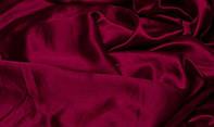 Ткань атлас однотонный бордовый (портьера)