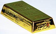 Зажигалка газовая слиток золота №3509, фото 1