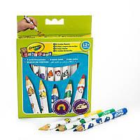 Crayola толстые Карандаши для малышей 8 цветов 3678. Оригинал