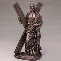 Бронзовая статуэтка Святой Андрей (22*9 см)
