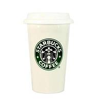 Керамическая чашка Starbucks Белая (100040)