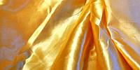 Ткань атлас однотонный песочный (портьера)