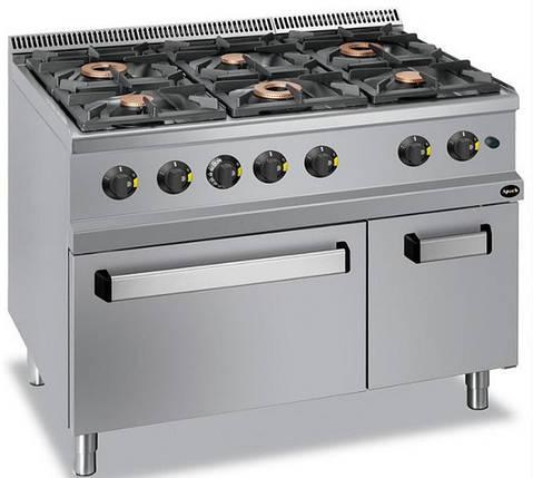 Газовая кухонная плита Apach APRG-117Fg , фото 2