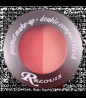 Pумяна компактные двойные Relouis Perfect make-up В076