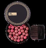 Румяна шариковые с бархатистым эффектом Relouis Black&Gold SILKY FACE B316