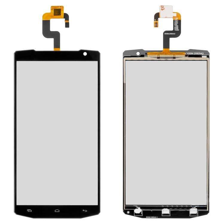 Сенсорный экран (тачскрин) Oukitel K1000 чёрный