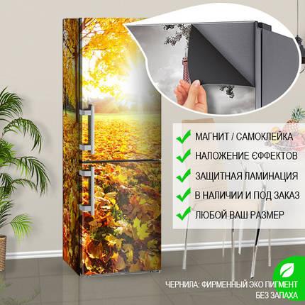 Оклейка холодильника пленкой, Самоклейка, 180 х 60 см, Лицевая, фото 2