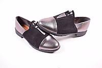 Туфли женские (цв.черный) Meideli Размеры в наличии : 36,37,38,39,40,41 арт.6888