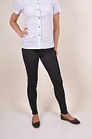 Лосины женские стрейчевые (цв. чёрный) SL Размеры в наличии : 42,44,46 арт.125, фото 1