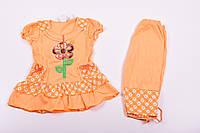 Костюм для девочки трикотажный Q&H Роста в наличии : 98,104,110 арт.B-38