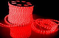 Дюралайт светодиодный Красный 2-х жильный
