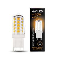 Светодиодная лампа GAUSS 4 Вт 2700K 185-265 Вольт G9 керамика