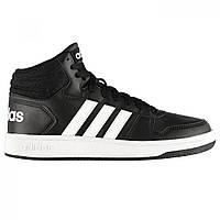 Кроссовки Adidas Hoops Mid Black/White - Оригинал