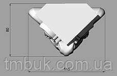 Ножка в стиле барокко для деревянного шкафа, кресла. Мебельная опора кабриоль резная. 140 мм топ, фото 3