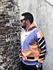 Мужская кофта с капюшоном Off-White (Офф Вайт) разноцветная, фото 4