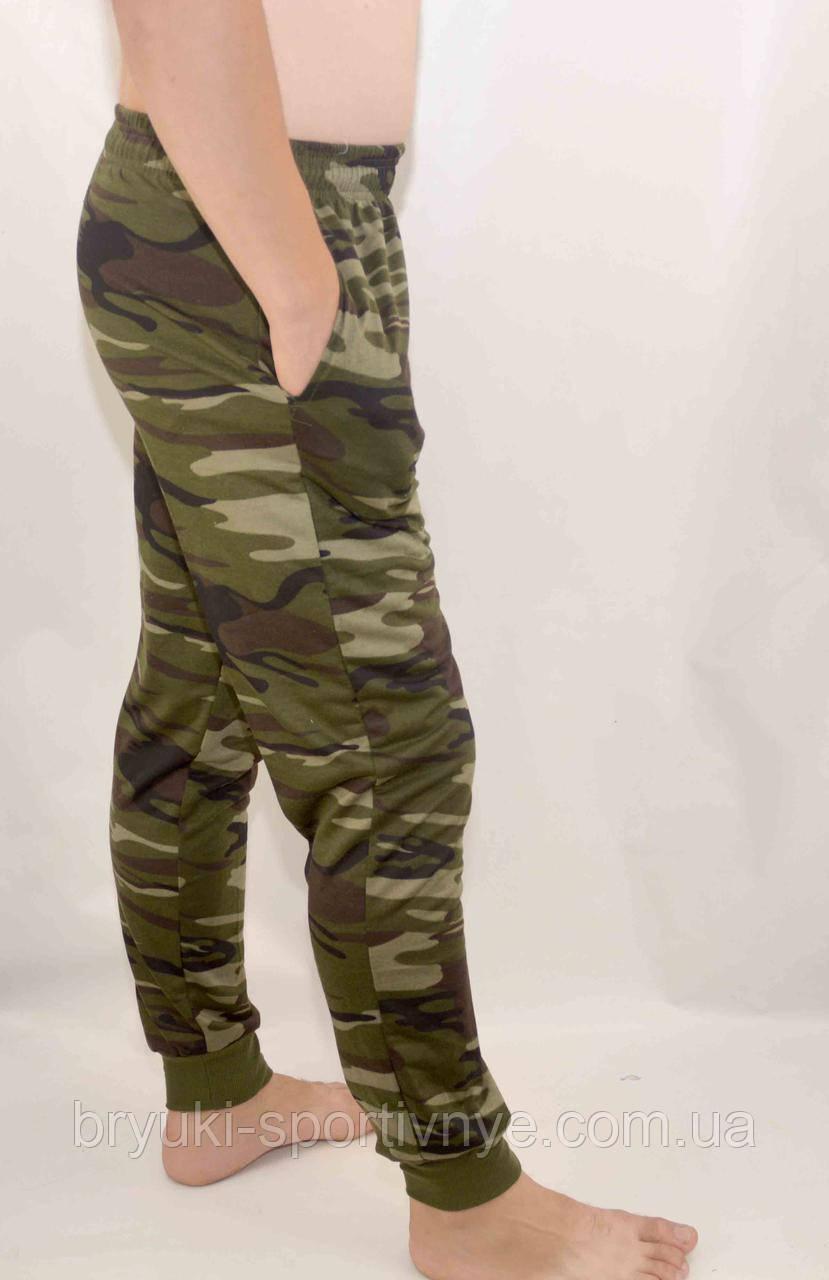 Штаны камуфляжные - трикотаж под манжет