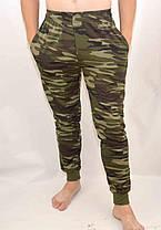 Штаны камуфляжные - трикотаж под манжет, фото 2
