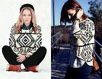 Женский свитер Геометрия,, фото 1