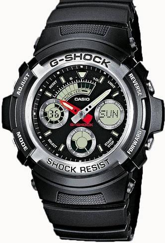 Наручные мужские часы Casio AW-590-1AER оригинал