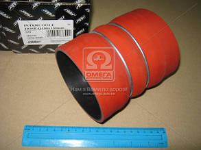 Патрубок интеркулера DAF Q100x130 mm OE 1286075 TEMPEST TP 19-0422