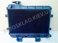 Радиатор охлаждения ВАЗ 2101,2102 медный, Лузар (LRc 0101c) с крышкой