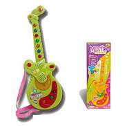 Гитара игрушечная на батарейках, свет+звук