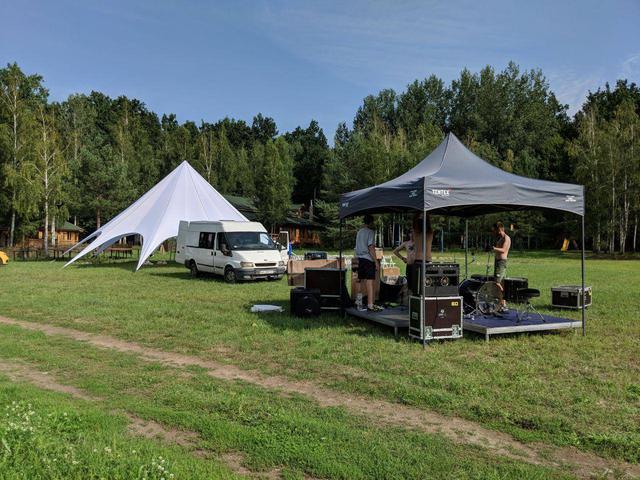 надувная палатка аренда