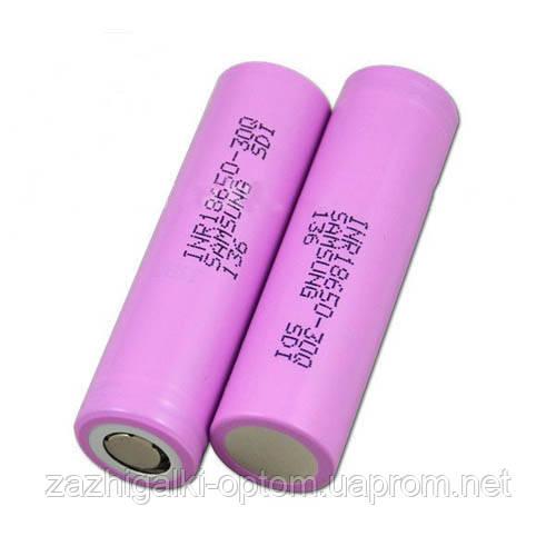 Аккумулятор Samsung 18650-30Q 3000mA, высокотоковый, оригинал *