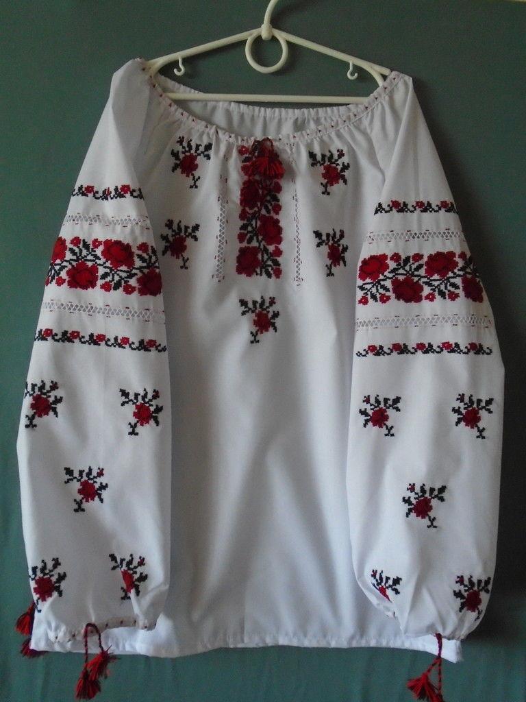 Вишиванка (вышиванка) для Дівчинки 8-10 Років — в Категории ... 4c56a40eb5560