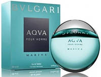 Мужская туалетная вода Bvlgari Aqua Pour Homme Marine (освежающий морской аромат)