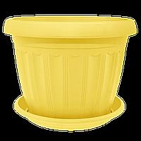 Цветочный горшок «Терра» 0.55л, фото 1