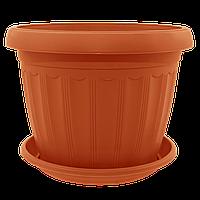 Цветочный горшок «Терра» (Алеана) 0,8х6,5, фото 1
