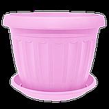 Квітковий горщик «Терра» 0.55 л, фото 2