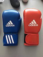 ПОДАРОК! Боксерские перчатки ADIDAS AIBA синие