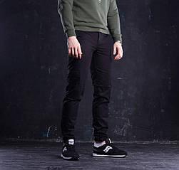 Мужское карго брюки ТУР Titan, Черные, хлопок 100%