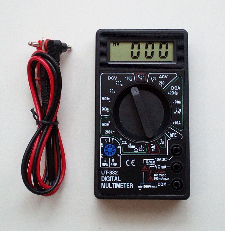 Мультиметр Ut-832