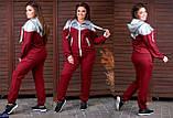 Трикотажный женский спортивный костюм Размер: 48-50, 52-54, 56-58, фото 3