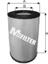 Фильтр воздушный DAF 95 XF OE MA754 M-Filter A542