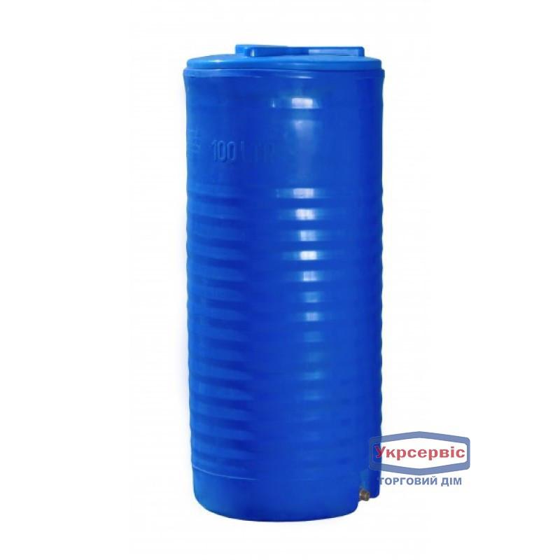Емкость Пласт Бак 100 литров вертикальная