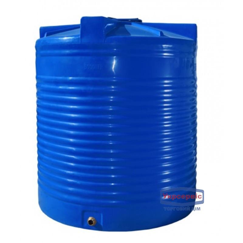 Емкость Пласт Бак 1000 литров вертикальная, двухслойная