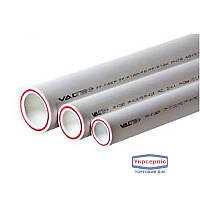 Труба ПП VALTEC 25*3,5 PP-FIBER PN20, горячая вода, белая (4м)