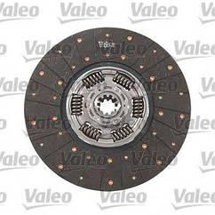 Диск сцепления ведомый DAF XF95 XF105, VOLVO FH12 FM12 OE 1688983 Valeo 807522