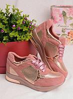 Кроссовки на утолщенной подошве 25936, фото 1