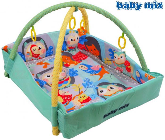 Развивающий коврик Alexis Baby Mix Веселые совушки 3261CE-DA00