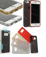 Glitter силиконовый чехол 3в1 для Meizu M6 Note