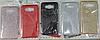 Glitter силиконовый чехол 3в1 для Meizu M6 Note Красный - Фото