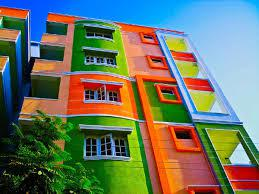 Краски для фасадных работ