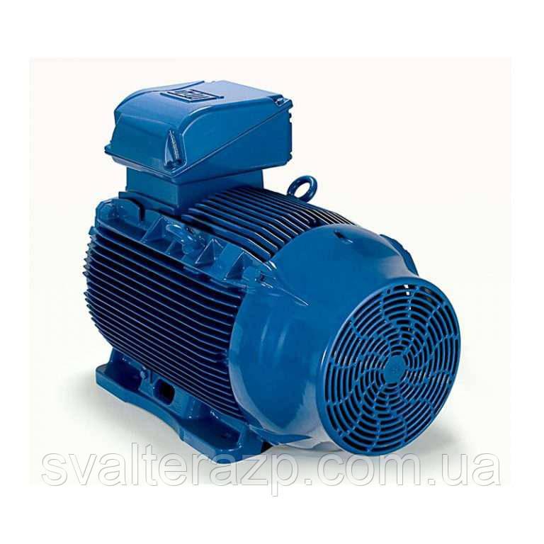 Асинхронный двигатель 5,5 кВт 1500 об/мин на лапах