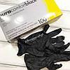 Перчатки нитриловые неопудренные черные PuraComfort Black